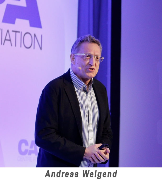Andreas Weigend at CAPA Leader Summit