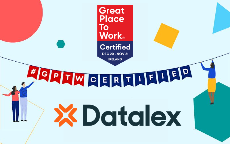Certification Celebration Bunting Datalex