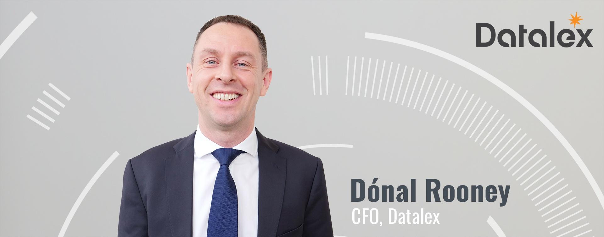 Dónal Rooney CFO Datalex