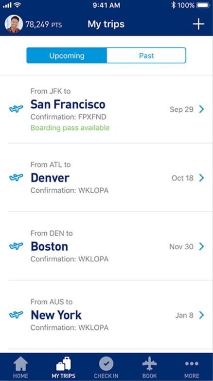 JetBlue_app_trips
