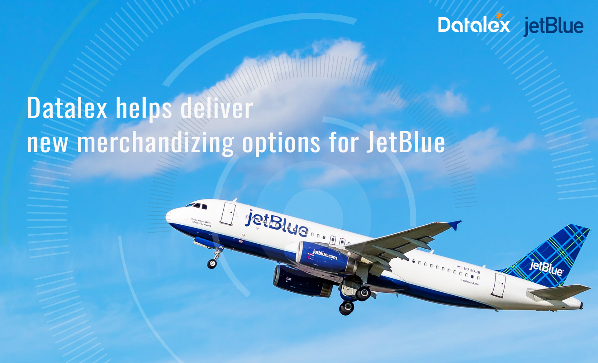 Datalex helps deliver new merchandizing options for JetBlue