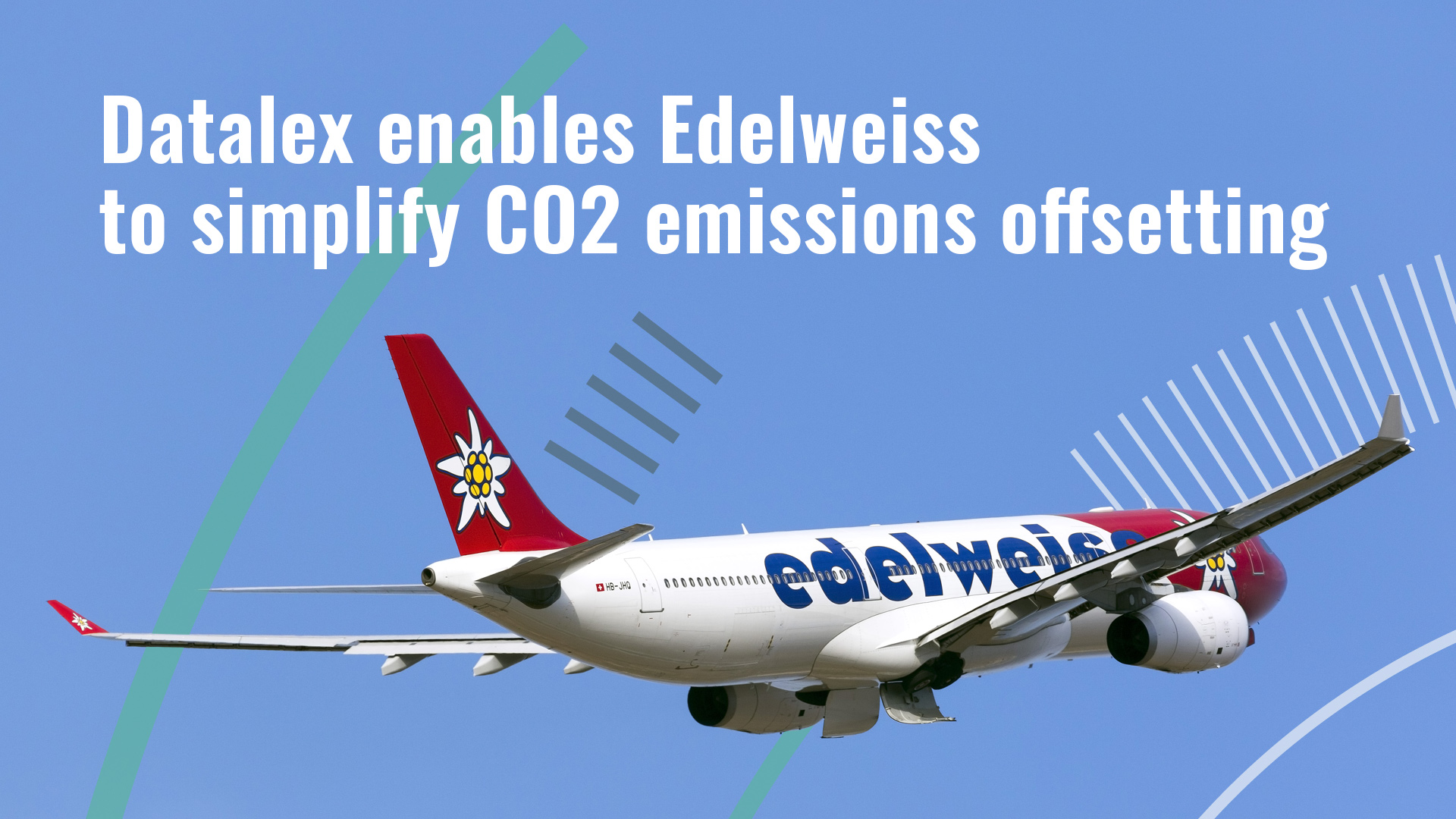 Datalex Enables Edelweiss to Simplify CO2 Emissions Offsetting