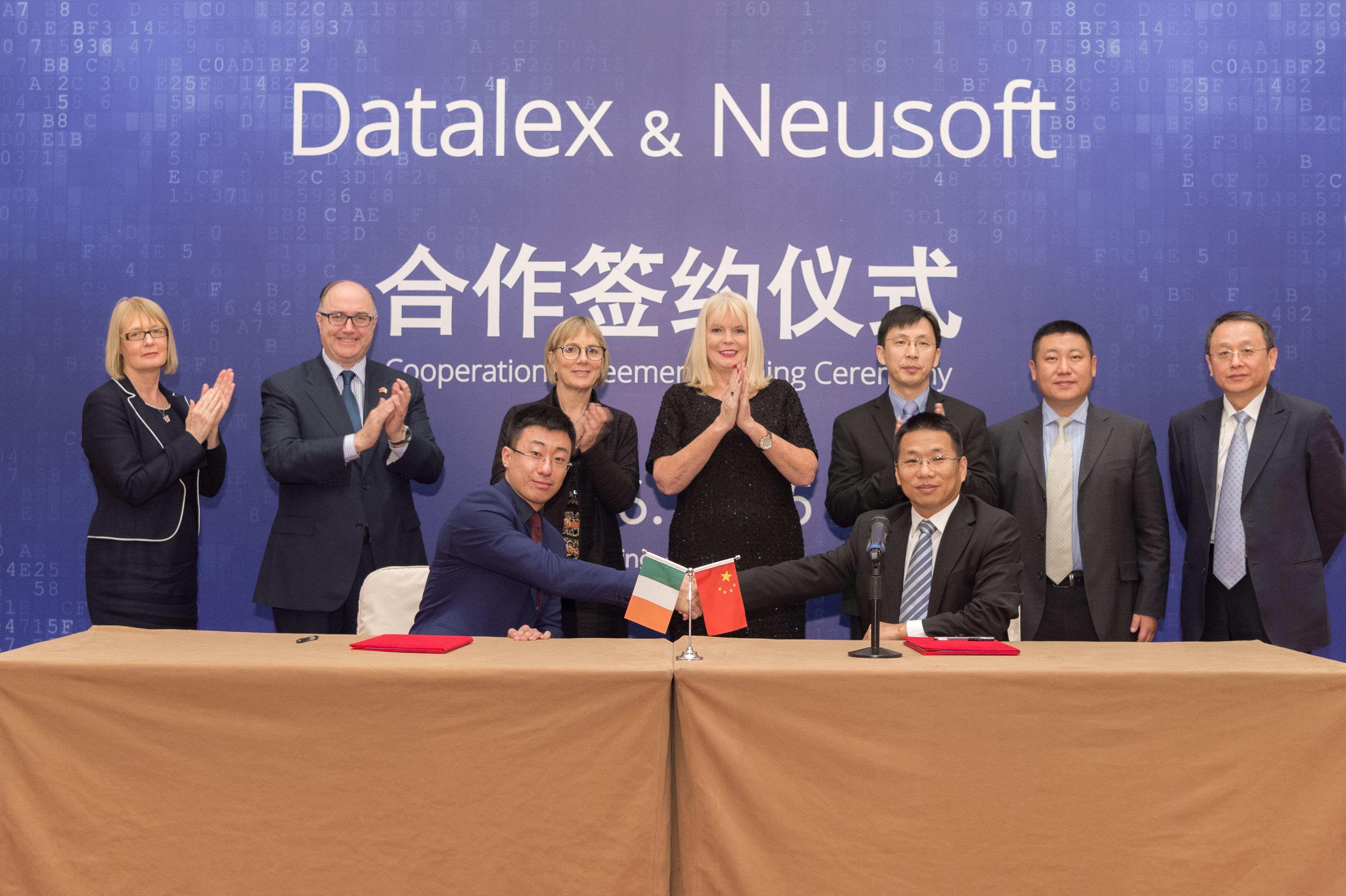 Datalex and Neusoft sign partnership agreement in Beijing
