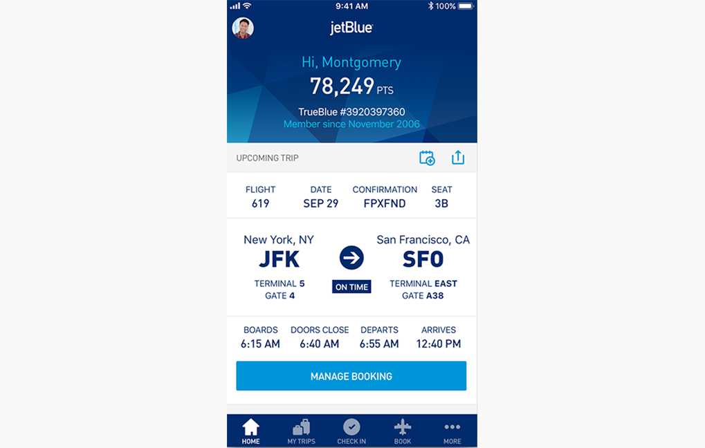 JetBlue & POSSIBLE Mobile win Webby People's Voice Award