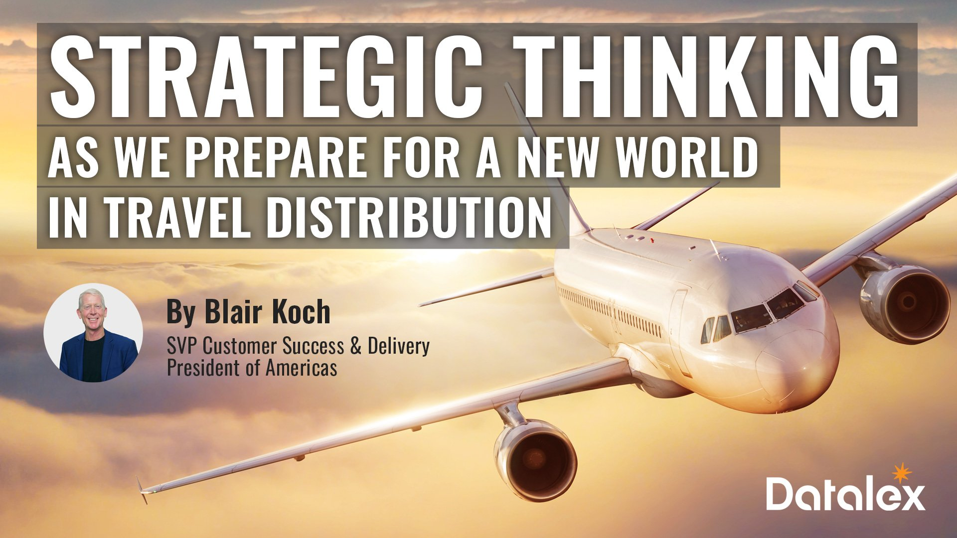 Strategic thinking on pricing as we prepare for a new world in travel distribution