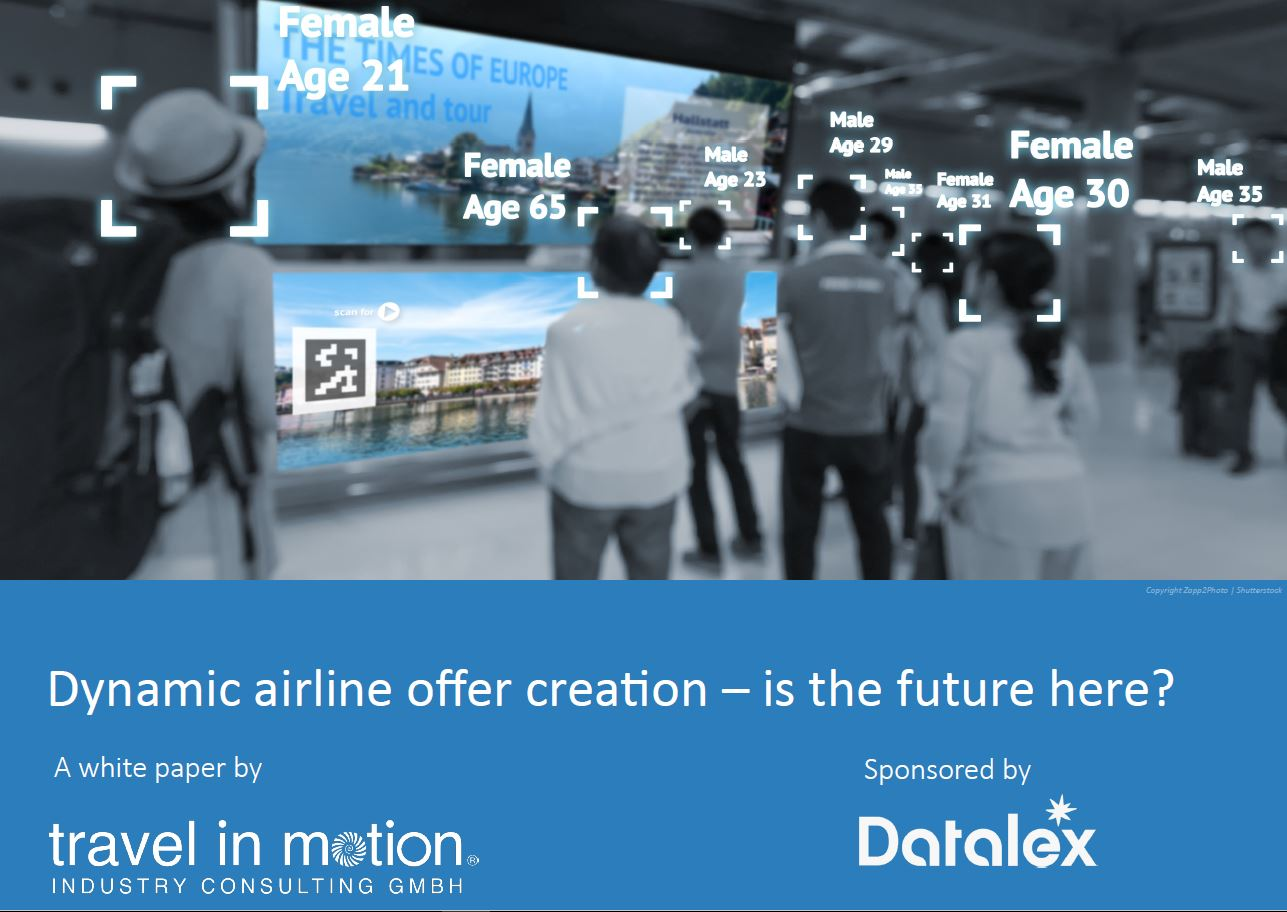 Dynamic airline offer creation - is the future here?